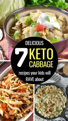 Keto Cabbage Recipe, Easy Keto Bread Recipe, Cabbage Recipes, Paleo Recipes, Cooking Recipes, Cabbage Meals, Cabbage Soup, Bacon Fried Cabbage, Southern Recipes