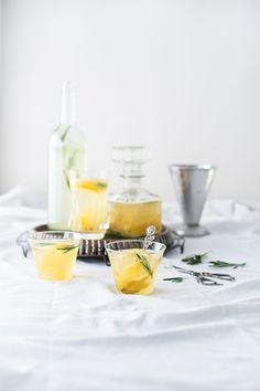 Lemon Rosemary Syrup
