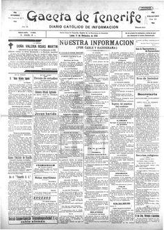 Gaceta de Tenerife-11 de noviembre de 1918. De la Guerra.