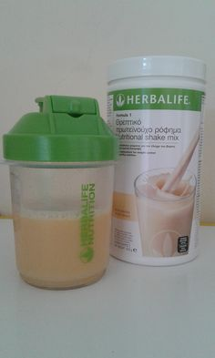 juice with formula 1 ( vanilla flavour ) for a healthy breakfast..