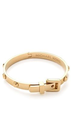 Michael Kors belt buckle bracelet