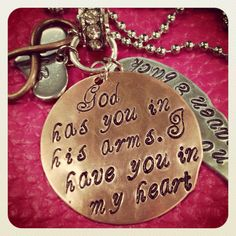 FREE SHIP Loss of a loved one wing charm stamped jewelry Father child husband wife on Etsy, $28.00