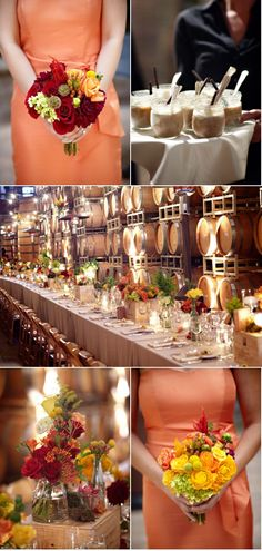 Fall Vineyard Wedding by Miki & Sonja Photography | Style Me Pretty