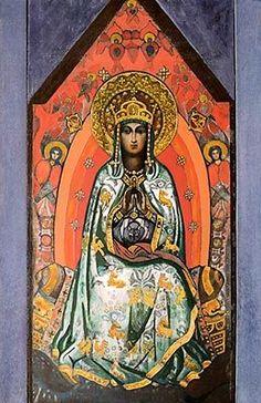 Queen of Heaven by Nicholas Roerich