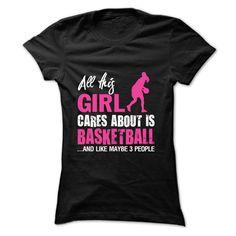This Girl Love Basketball T-Shirt