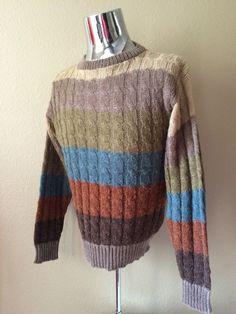 Vintage Apparel Men's 80's Sweater Acrylic Wool by Freshandswanky
