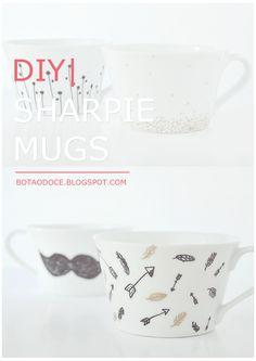 SHARPIE MUGS DIY