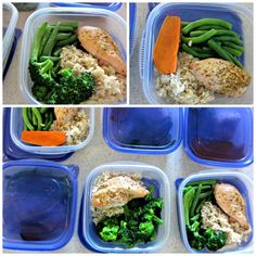Meal Prep! How to organize clean eating dinners for a week (stronglikemycoffee.com)