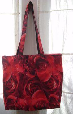 Upcycled Umbrella Tote Bag by Carminabiryani on Etsy, £15.00