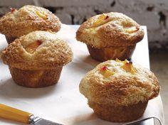 Peach Cobbler Muffins!