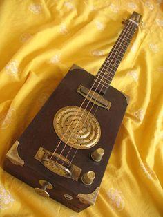 "CIGAR BOX GUITAR ""Fool's Gold"""