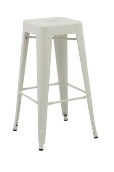Tolix Retro Reproduction Cafe Bar Stool (Set of 4) - Multiple Colours – Simply…