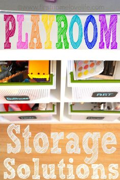 Toy Storage Solutions | First Home Love Life