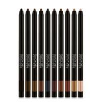 This long-wearing, smudge-proof, and waterproof auto eyeliner glides on easily like a gel liner, gives intense color payoff like a liquid liner, and locks in pl