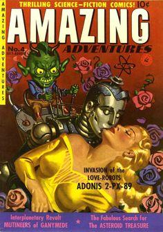 Amazing Adventure -  Invasion of Love Robots Adonis 2-PX-89