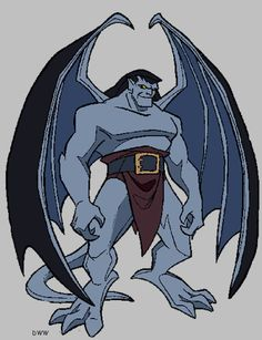 gargoyles characters coloring pages - photo#25
