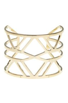platinum-finds ~ Products ~ Vince Camuto Openwork Geo Cuff ~ Shopify