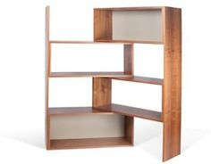 Tema Furniture Move Adjustable Length Shelving Unit Bookcase In Walnut/grey Wooden Shelving Units, Bookcase Shelves, Wood Shelves, Open Bookcase, Bookcases, Silver Furniture, Entryway Furniture, Bedroom Furniture, Etagere Design
