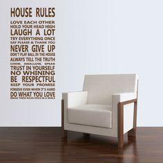 House Rules ♥ Eijerkamp