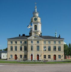 Hamina (the city hall), by Carl-Magnus Dumell. Viborg, Finland, Urban, Mansions, House Styles, City, Building, Places, Home Decor