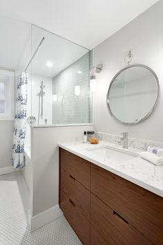 Bathroom by Madeleine Design Group in Vancouver, BC. *Re-pin to your inspiration board*