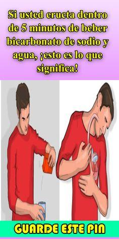 Si usted eructa dentro de 5 minutos de beber bicarbonato de sodio y agua, ¡esto es lo que significa! - Salud y Cura Ecards, Memes, Oral Hygiene, Drinking Baking Soda, Painted Cups, Deodorant, Water, E Cards, Meme