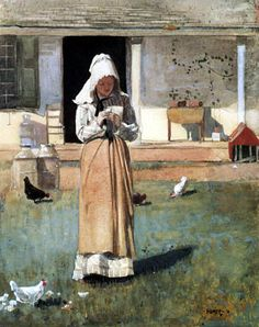 winslow homer  the ill chick