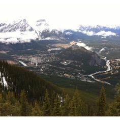 Town of Banff for the Gondola.