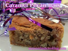 Happy New Year from Moore Or Less Cooking! This is the first recipe on my blog for 2014! I am happy to post a very delicious and easy cookie bar to start the New Year off with sweet luck! Thinking...