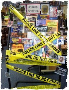 Forensic Science books display