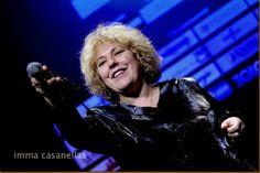 Blues singer Big Mama at @vinseum in #Vilafranca del Penedès (Catalonia), Nov 16, 2013 #photo by Imma Casanellas