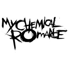 My Chemical Romance Logo Band Logos ❤ liked on Polyvore featuring backgrounds…