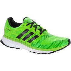 adidas Energy Boost 2 ATR Men's Rich Green/Black/Vivid Green at holabirdsports.com