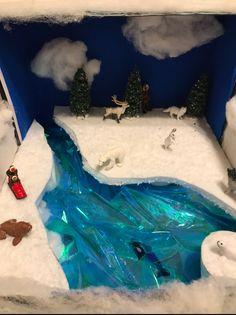 Ecosystems Projects, Science Projects, School Projects, Projects For Kids, Class Projects, Arctic Habitat, Bear Habitat, Arctic Tundra, Animal Habitats