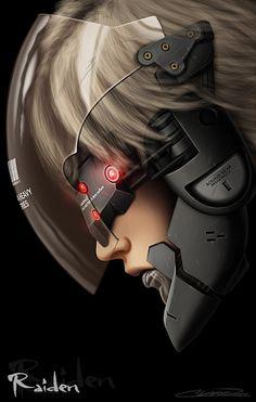 arklight101: Raiden by Grandmaster-j5