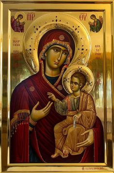 Religious Images, Religious Icons, Religious Art, Jesus Christ Images, Jesus Art, Byzantine Icons, Byzantine Art, Blessed Mother Mary, Blessed Virgin Mary