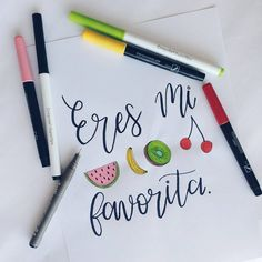 Amor Papaya, Crayola Supertips, Handwriting, Hand Lettering, Stickers, Snail Mail, Music Lyrics, Sadness, Instagram