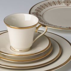 lenox china dishes pics | Eternal China - 5-PC SET by Lenox Dinnerware and Tabeware