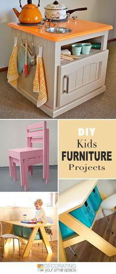 Best Diy Crafts Ideas For Your Home : DIY Kids Furniture Projects  Lots of ideas & tutorials!