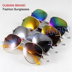 fe27254f7d1 Sunglasses Men Women Eyewear Eyeglasse Colorful Lenses Sun Glasses UV  protect…