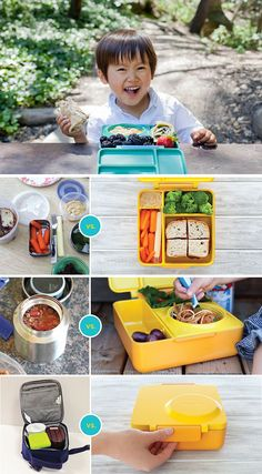 Omiebox - definitely meeting an unmet need in the lunchbox market! Hot and cold food together in one cute box.
