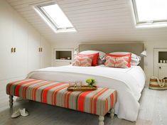 12 chambres à coucher chics sublimées par des lucarnes