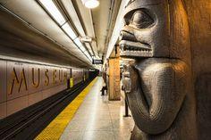 Museum Metro Station in Toronto, Canada