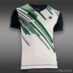 Lotto Slade Graphic Crew - White/Navy Tennis Shirts, Tennis Clothes, Navy, Mens Tops, Shopping, Fashion, Hale Navy, Moda, Fashion Styles