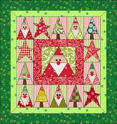 This quilt includes:   · 3 New Blocks   · 2 Blocks Border, 3 Mitered Border   · 32 new fabrics from various manufacturers.   · The overa
