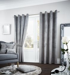 Riviara Silver Lined Eyelet Curtains – Linen and Bedding Silver Bedding, Pink Bedding, Luxury Bedding, Turquoise Bedding, Luxury Linens, White Bedding, Best Linen Sheets, Fitted Bed Sheets, Discount Bedding Sets