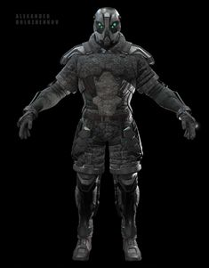 Ghost Armor, Game Character, Character Design, Ajin Anime, Modern Games, Carapace, Free Hand Drawing, Game Engine, Close Encounters