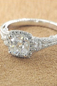 vintage antique style engagement rings 6