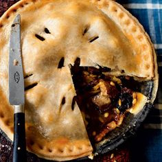 Pork, apple and prune pie recipe. For the full recipe, click the picture or visit RedOnline.co.uk