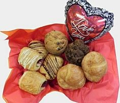 Baby it is cold outside! Perfect Valentine's surprise breakfast with an steaming cup of hot chocolate. Order online www.delibaking.com